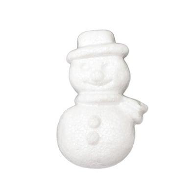 Снежен човек стиропор 84x46x18 мм -2 броя