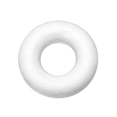 Кръг стиропор 73x24 мм объл за декорация -5 броя