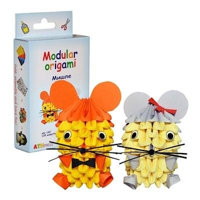 Комплект Модулно оригами Мишка