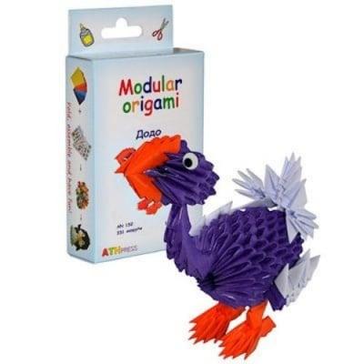 Комплект Модулно оригами Додо
