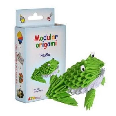 Комплект Модулно оригами Жаба