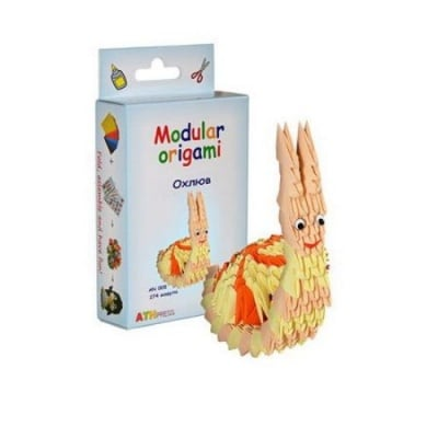 Комплект Модулно оригами Охлюв
