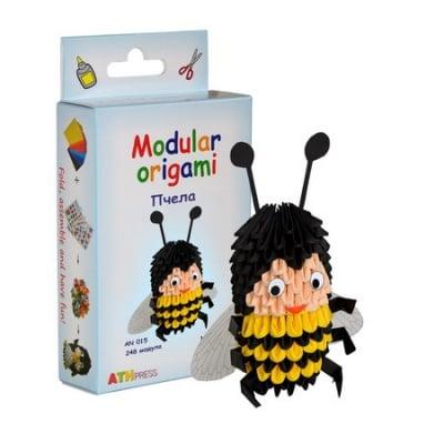 Комплект Модулно оригами Пчела