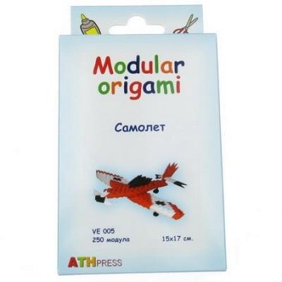 Комплект Модулно оригами Червен самолет