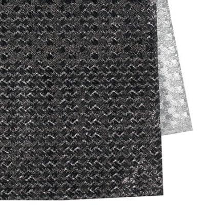 Хартия опаковъчна 700x500 мм двулицева цвят сребро/ сива тъмно