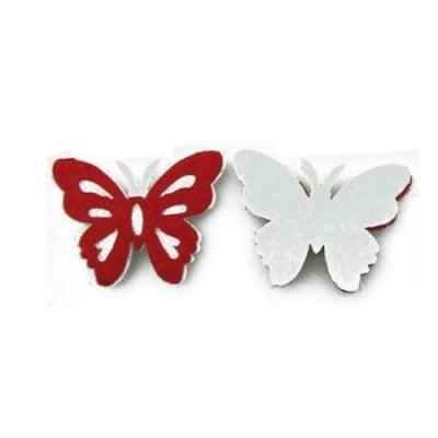 Пеперуда филц 30x40 мм 2 пласта -10 броя