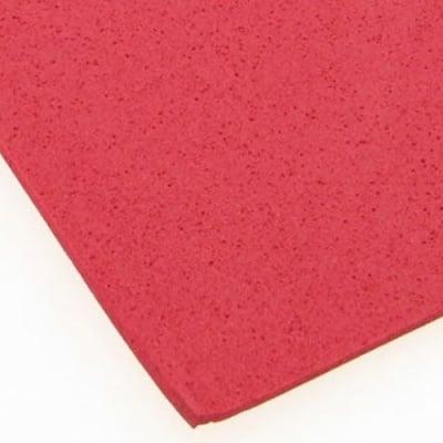 EVA материал /микропореста гума/ 2 мм А4 20х30 см червен