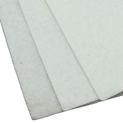 Филц 1 мм A4 20x30 см цвят бял -1 брой
