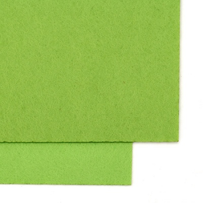 Филц 1 мм A4 20x30 см цвят зелен 2 нюанса -1 брой