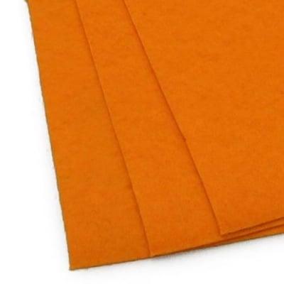 Филц 1 мм A4 20x30 см цвят оранжев светло -1 брой