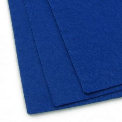 Филц 1 мм A4 20x30 см цвят син тъмно -1 брой