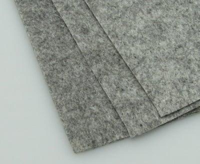 Филц 1 мм A4 20x30 см цвят сив меланж -1 брой