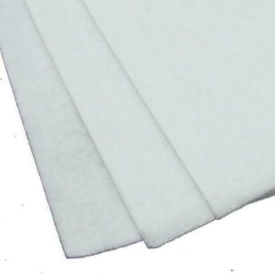Филц 2 мм A4 20x30 см цвят бял -1 брой