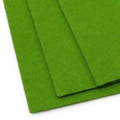 Филц 2 мм A4 20x30 см цвят зелен -1 брой