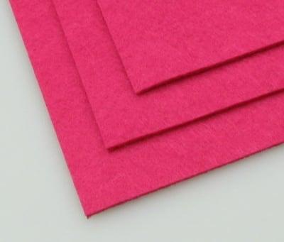 Филц 2 мм A4 20x30 см цвят розов тъмно -1 брой