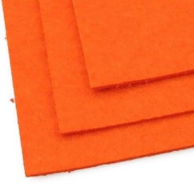 Филц 2 мм A4 20x30 см цвят оранжев-1 брой