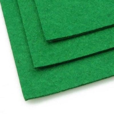 Филц 2 мм A4 20x30 см цвят зелен тъмно -1 брой