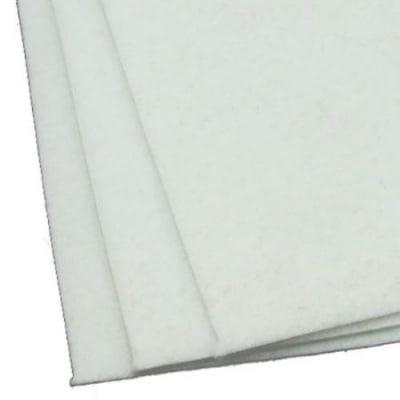 Филц 3 мм A4 20x30 см цвят бял -1 брой