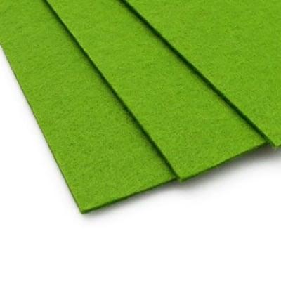 Филц 3 мм A4 20x30 см цвят зелен тревисто -1 брой