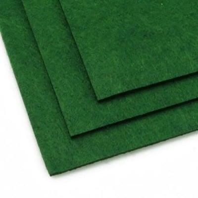 Филц 3 мм A4 20x30 см цвят зелен тъмно -1 брой