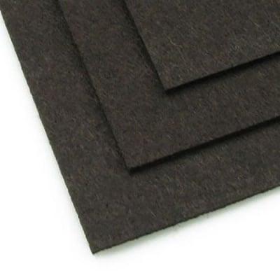 Филц 3 мм A4 20x30 см цвят черно кафяво -1 брой