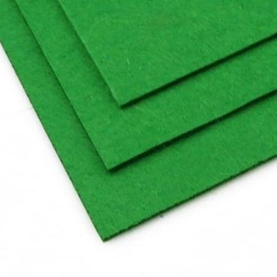Филц 3 мм A4 20x30 см цвят зелен -1 брой