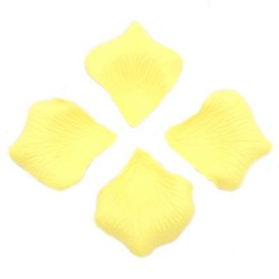 Листо хартия за декорация лимонено жълто -144 броя