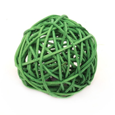 Сухи топки дърво 70 мм зелени
