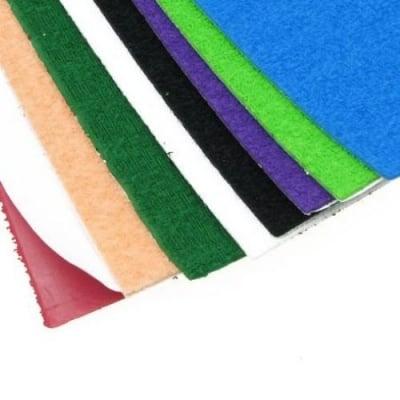 EVA материал /микропореста гума/ 2 мм А4 20х30 см релефен самозалепващ АСОРТЕ цветове -10 листа
