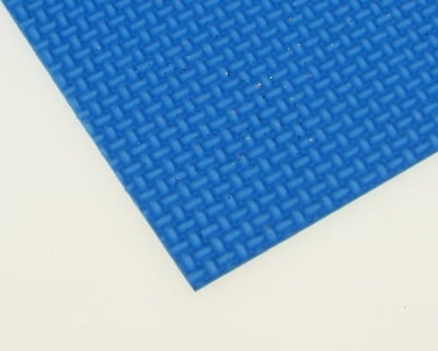 EVA материал /микропореста гума/ 2 мм А4 20х30 см релефен фигурален син