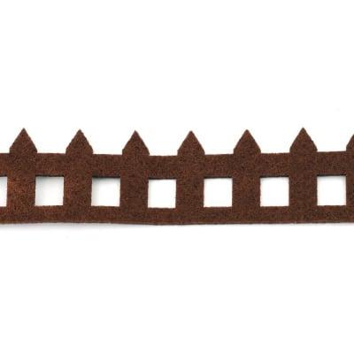 Ограда филц 4.5x50x0.3 см кафява