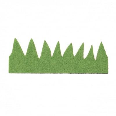 Трева филц 100x30x2 мм -10 броя