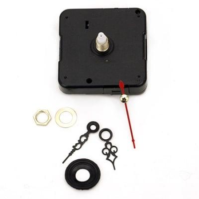 Часовников механизъм 55x55x16 мм стрелки 29 мм 35 мм 45 мм захранване 1.5 V (Батерия)