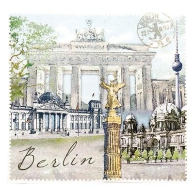 Салфетка HOME FASHION 33x33см трипластова Berlin -1 брой