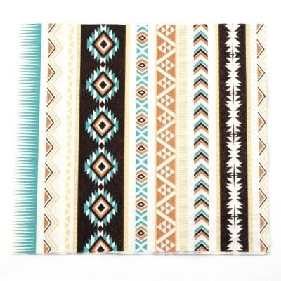 Салфетка HOME FASHION 33x33 см трипластова Aztec -1 брой