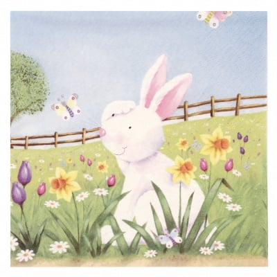 Салфетка ti-flair 33x33см трипластова Easter Hide and Seek -1 брой