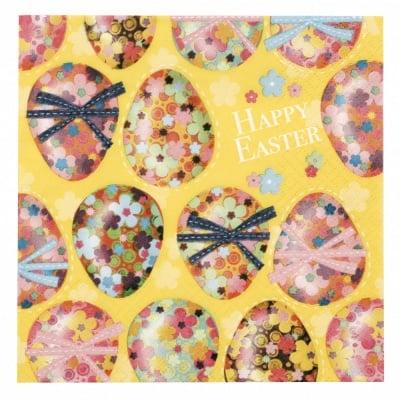 Салфетка ti-flair 33x33см трипластова Multicoloured Easter Eggs -1 брой