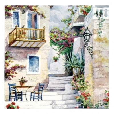 Салфетка ti-flair 33x33см трипластова Basking in Summer s Sun -1 брой