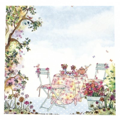 Салфетка ti-flair 33x33см трипластова Afternoon Tea -1 брой