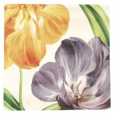 Салфетка ti-flair 33x33см трипластова Tulipani Fioriti -1 брой