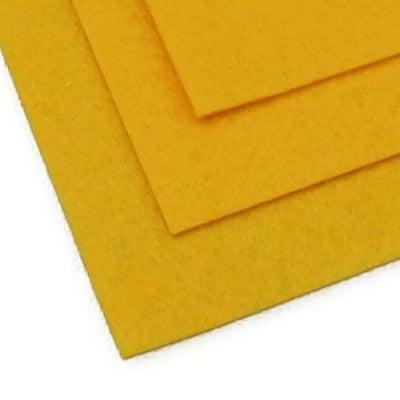 Филц 1 мм A4 20x30 см цвят жълт тъмно -1 брой