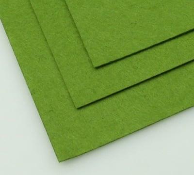 Филц 1 мм A4 20x30 см цвят зелен тревисто тъмно -1 брой