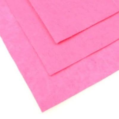 Филц 1 мм A4 20x30 см цвят розов -1 брой