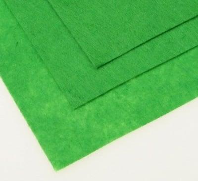 Филц 1 мм A4 20x30 см цвят зелен -1 брой