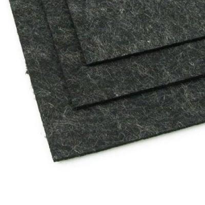 Филц 2 мм A4 20x30 см цвят черен меланж -1 брой