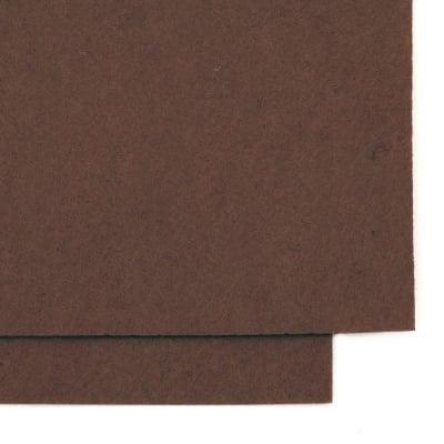 Филц 1 мм A4 20x30 см цвят кафяв -1 брой