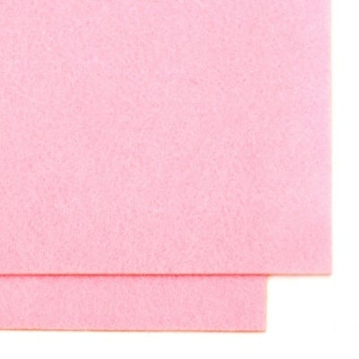 Филц 2 мм A4 20x30 см цвят розов -1 брой