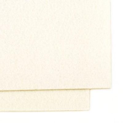 Филц 2 мм A4 20x30 см цвят бял мръсно -1 брой