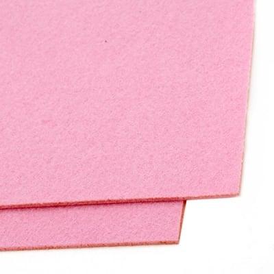 Филц 3 мм A4 20x30 см цвят розов -1 брой