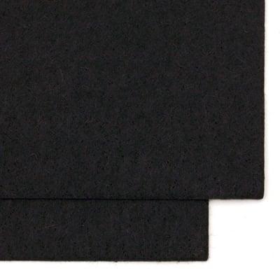 Филц 1.5 мм A4 20x30 см цвят черен -1 брой